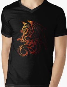 Dragon Space Mens V-Neck T-Shirt
