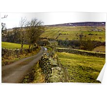 Dales Country Road. Poster
