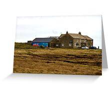 Tan Hill Inn Greeting Card