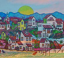 Del Mar Sunrise by James Peele