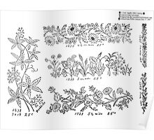 New Sample Book of Our Artistic Perforated Parchment Stamping Patterns Kate Greenaway, John Frederick Ingalls 1886 0146 Poster