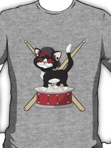 Kitten Josh Dun + Drums T-Shirt