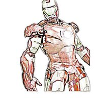 Iron Man Sketch Effect (2.0) by SpiderReviewer