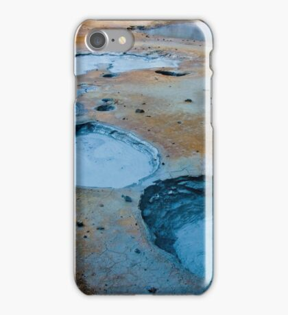 Icelandic Mud Pots iPhone Case/Skin
