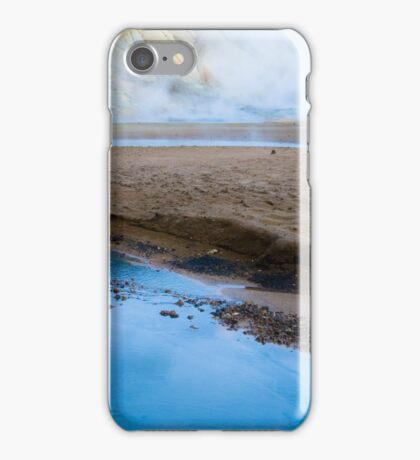Icelandic Hot Springs iPhone Case/Skin