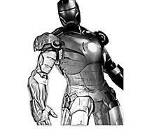 Iron Man Sketch Effect (3.0) by SpiderReviewer