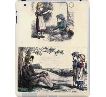The Little Folks Painting book by George Weatherly and Kate Greenaway 0095 iPad Case/Skin