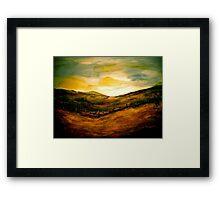 Landscape Hardy...Egdon Sunrise Framed Print