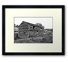 Dales Barn Framed Print