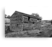Dales Barn Canvas Print