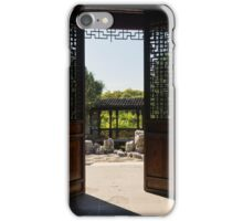 Walk Out to the Garden... iPhone Case/Skin