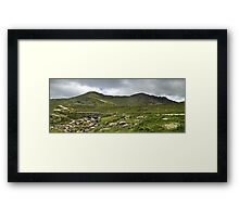 The Coniston Fells - Dow Crag Framed Print