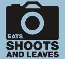 Eats, Shoots & Leaves... Kids Tee