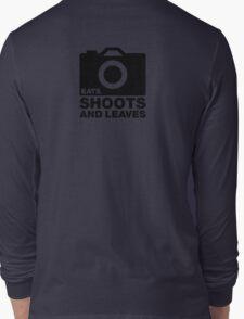 Eats, Shoots & Leaves... Long Sleeve T-Shirt