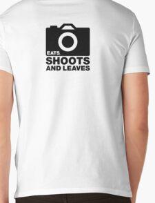 Eats, Shoots & Leaves... Mens V-Neck T-Shirt