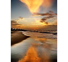 Larry SUNSET Photographic Print