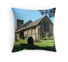 St Mary & All Saints Church Throw Pillow