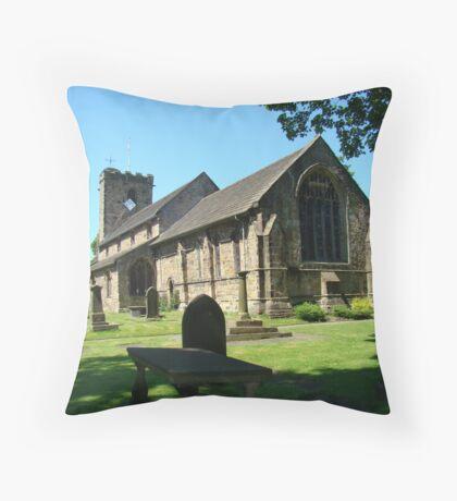 St Mary & All Saints Church Throw Pillow