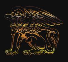 Winged Lion by Rowan  Lewgalon