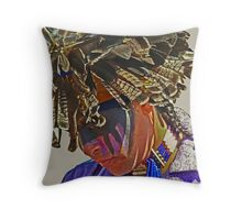 Dog Soldier Throw Pillow