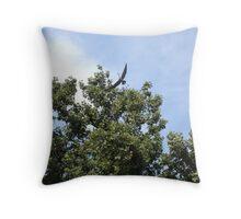 Great Blue Herons Throw Pillow