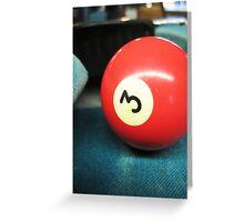 3-Ball Game Greeting Card
