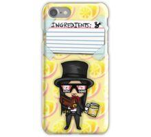 Wednesday 13 - Weirdo A Go-Go Ingredient List iPhone Case/Skin