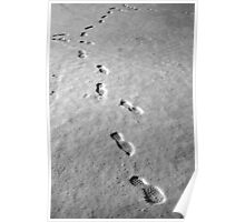 Walking on the moon Poster