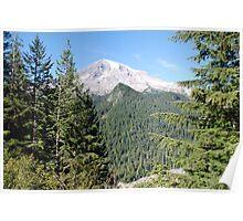Mt. Rainier Nisqually Glacier Poster
