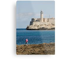 El Morro lighthouse, Havana, Cuba Metal Print