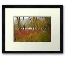 To The Distant Shore Framed Print