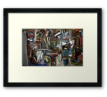 Hourglass Illusions Framed Print