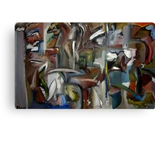 Hourglass Illusions Canvas Print