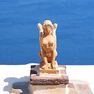 Greek Statue by Christine Wilson