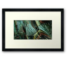 the other side of the forest Framed Print