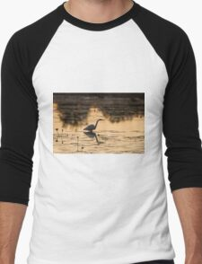 Sunset Ponds Men's Baseball ¾ T-Shirt
