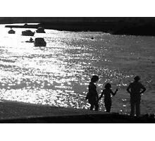 'Gone Fishing' : River Crouch, Hullbridge Photographic Print