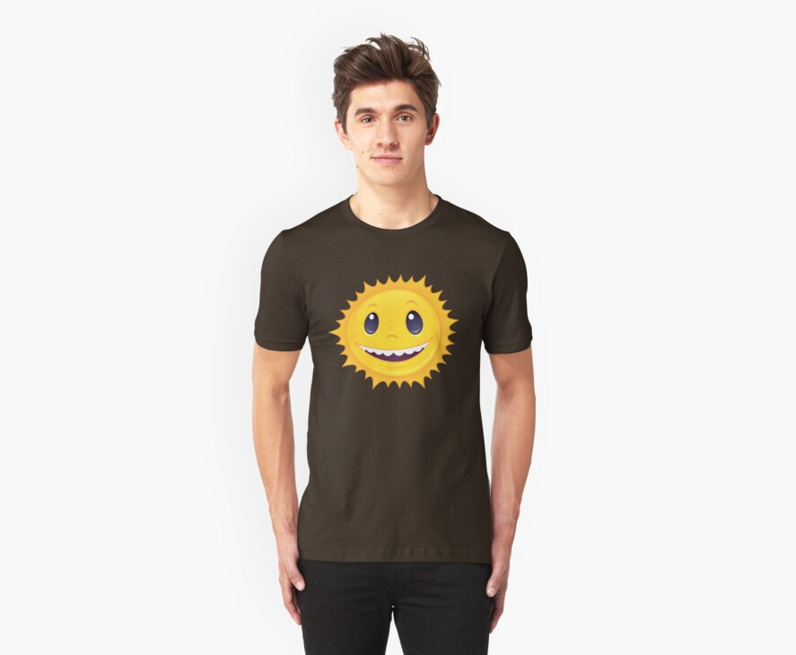Smiley Sun by fizzgig
