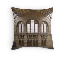 The Natural History Museum Throw Pillow