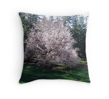 Plums in the Making Throw Pillow