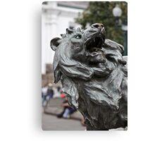 Bronzed Like a Lion Canvas Print
