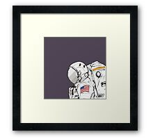 One Small Step... Framed Print