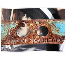 The City of San Diego Poster
