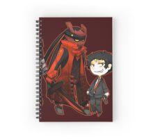 Magatsu Izanagi and Adachi Spiral Notebook