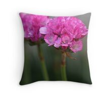 Mirrored in Pink Throw Pillow