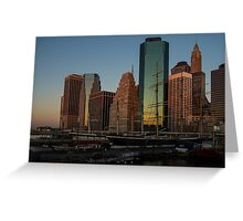 Colorful New York  Greeting Card
