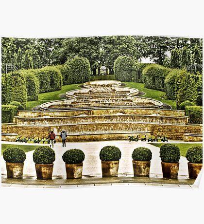 Alnwick Gardens. Poster
