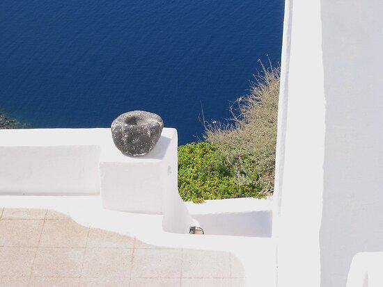 Stone Bowl by Christine Wilson