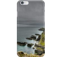 Rain Coming To South Stacks iPhone Case/Skin