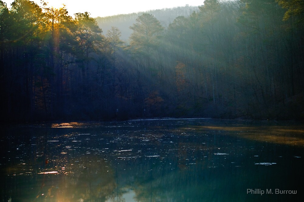 sun rays by Phillip M. Burrow